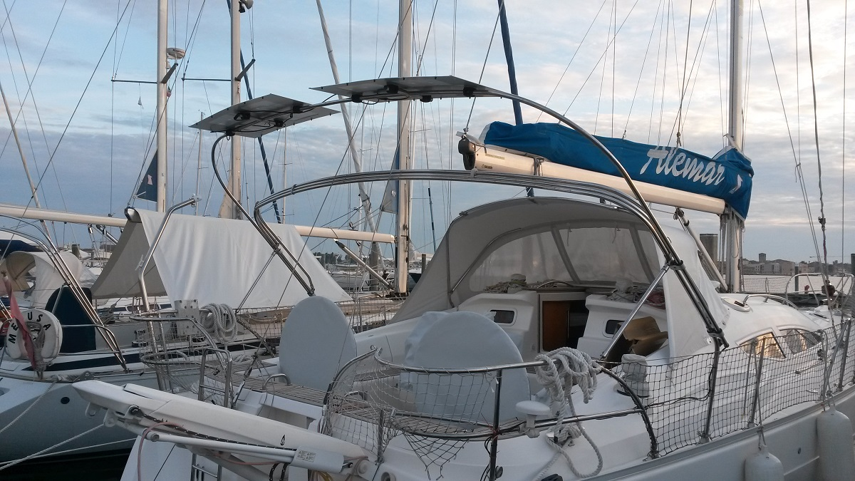 15 Monoarc Doppio 200Wp Asseaboat