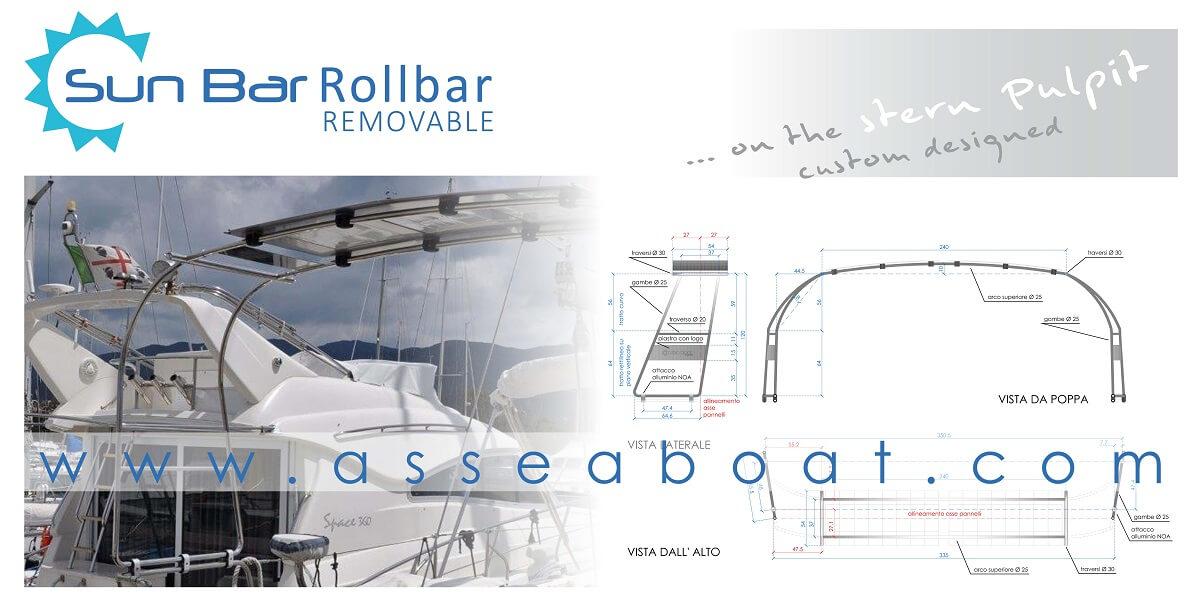 0  Rollbar Struttura Custom Con Moduli Fotovoltaici