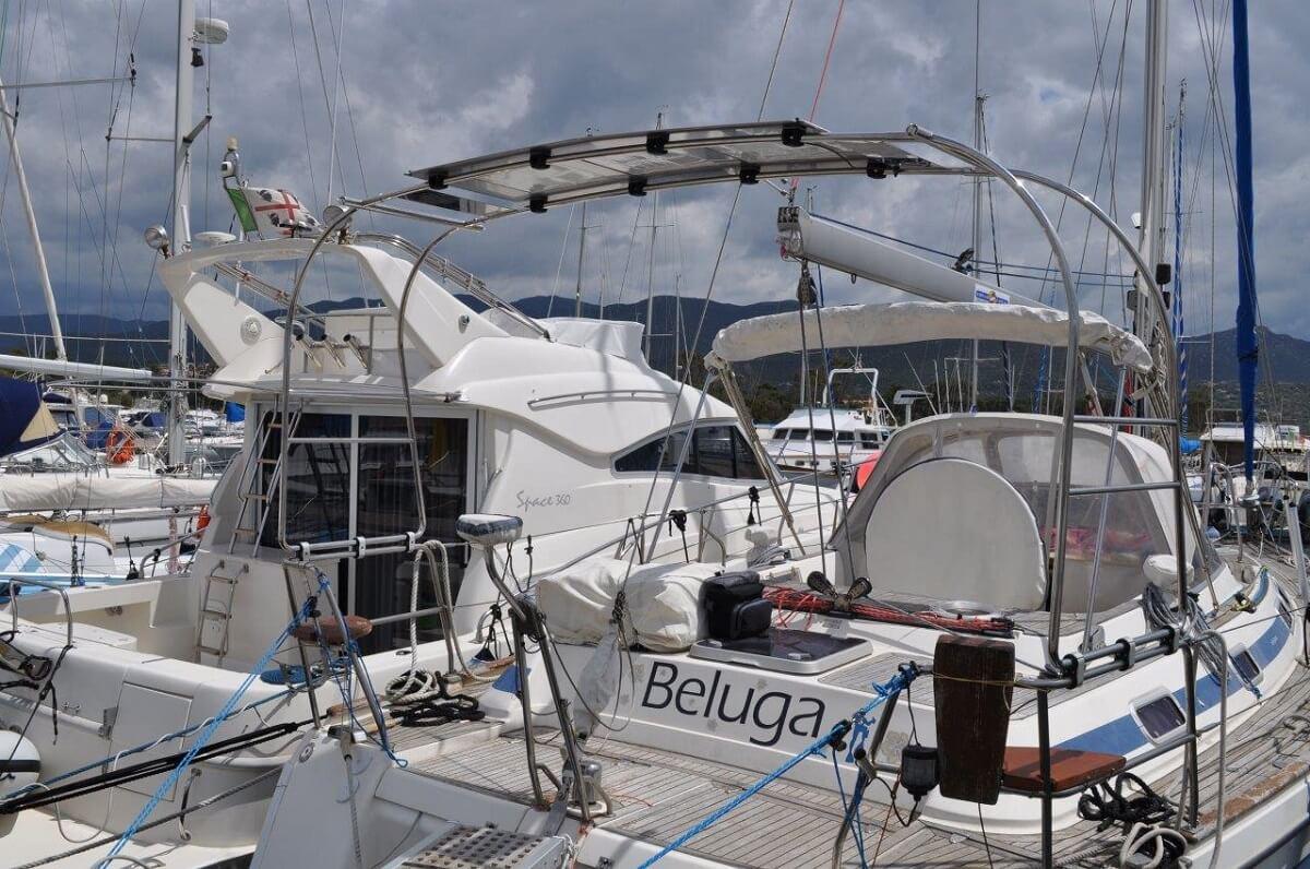 17 Rollbar Su Misura Con Pannello Fotovoltaico Asseaboat