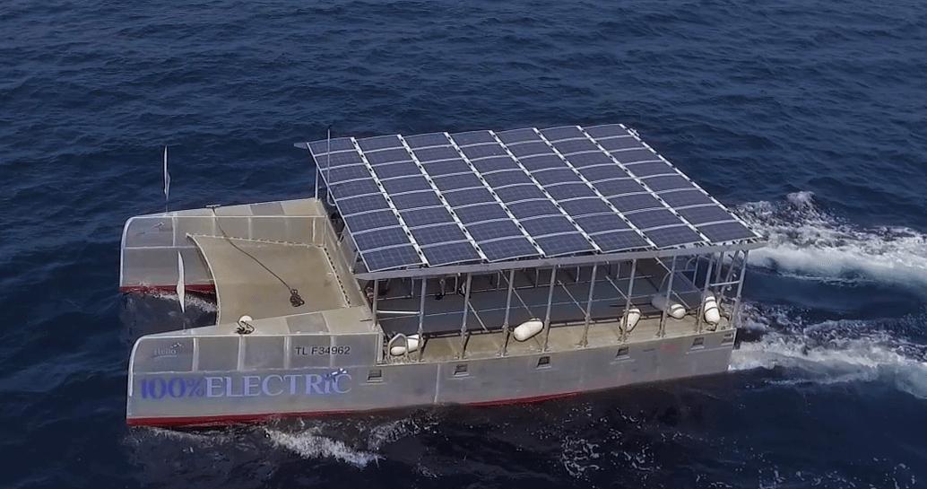15 Helio Dive Electric Catamaran