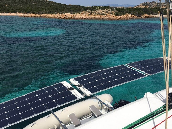 Solar At Anchor Asseaboat Solution