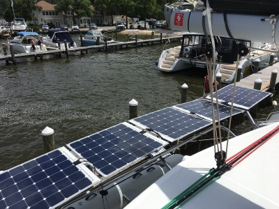 Solbian system for Lagoon made by Asseaboat